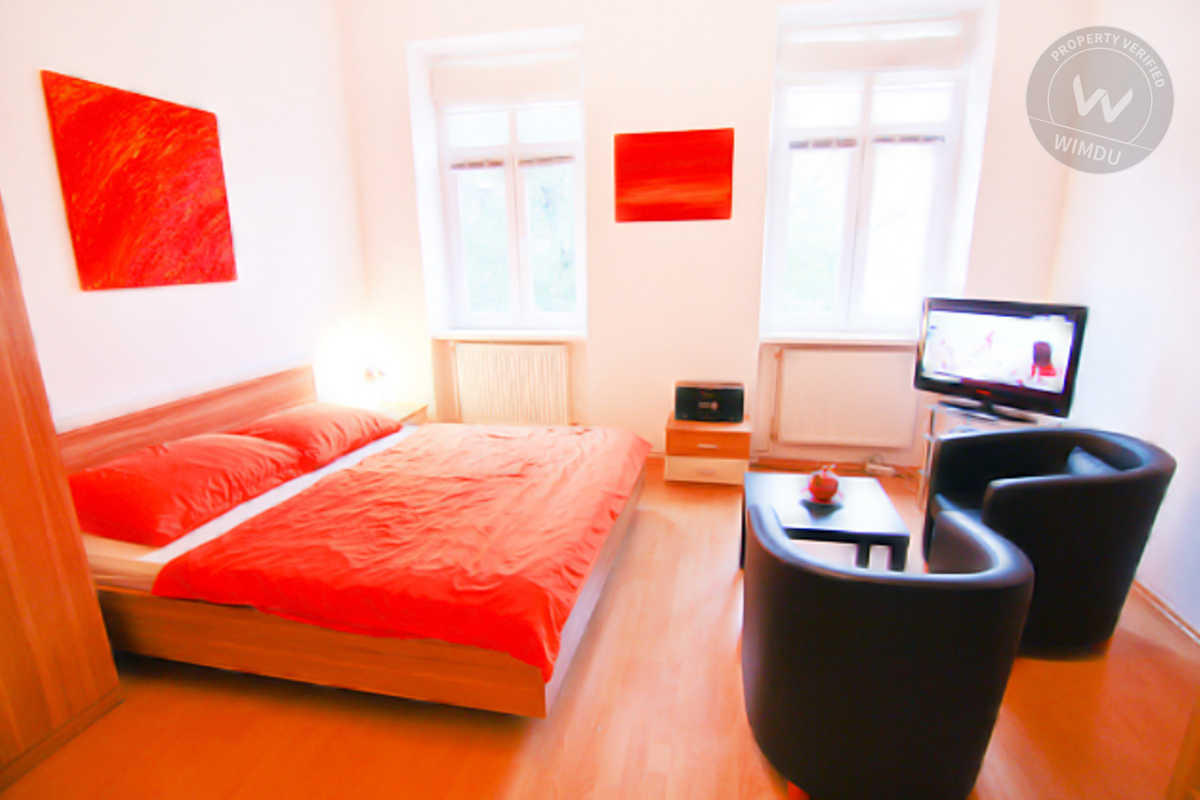 Central Studio with WiFi and Garden - Barnabitengasse, Viena
