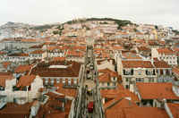 The flat is located in Baixa - the downtown of Lisbon