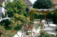 Garden is shared, pergola, 2 terraces