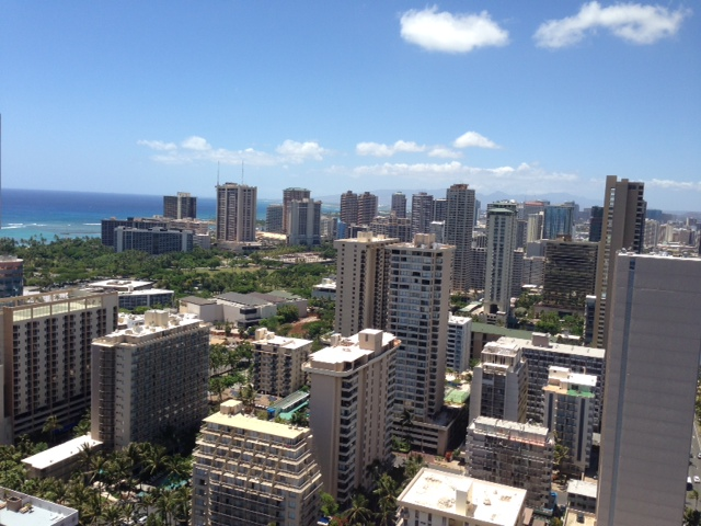 Spring Special! (Waikiki) Island Colony 35th floor, Quality 1BR Condo, Ocean View, Near Beach!