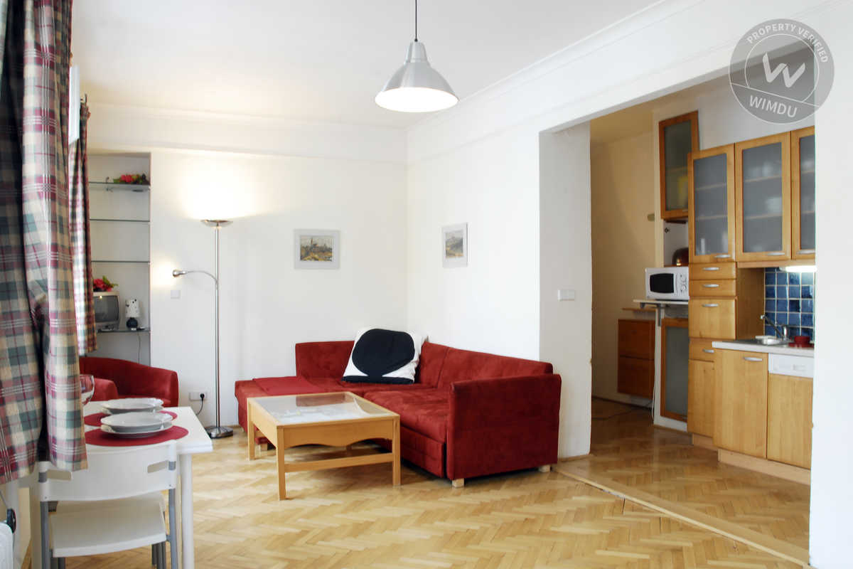 Cosy Studio with Free Parking - Kozácká, Prague