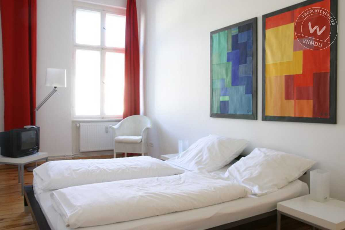 Sunny Holiday Apartment in renovated House (Malmö 12) - Malmöer Straße, Berlin